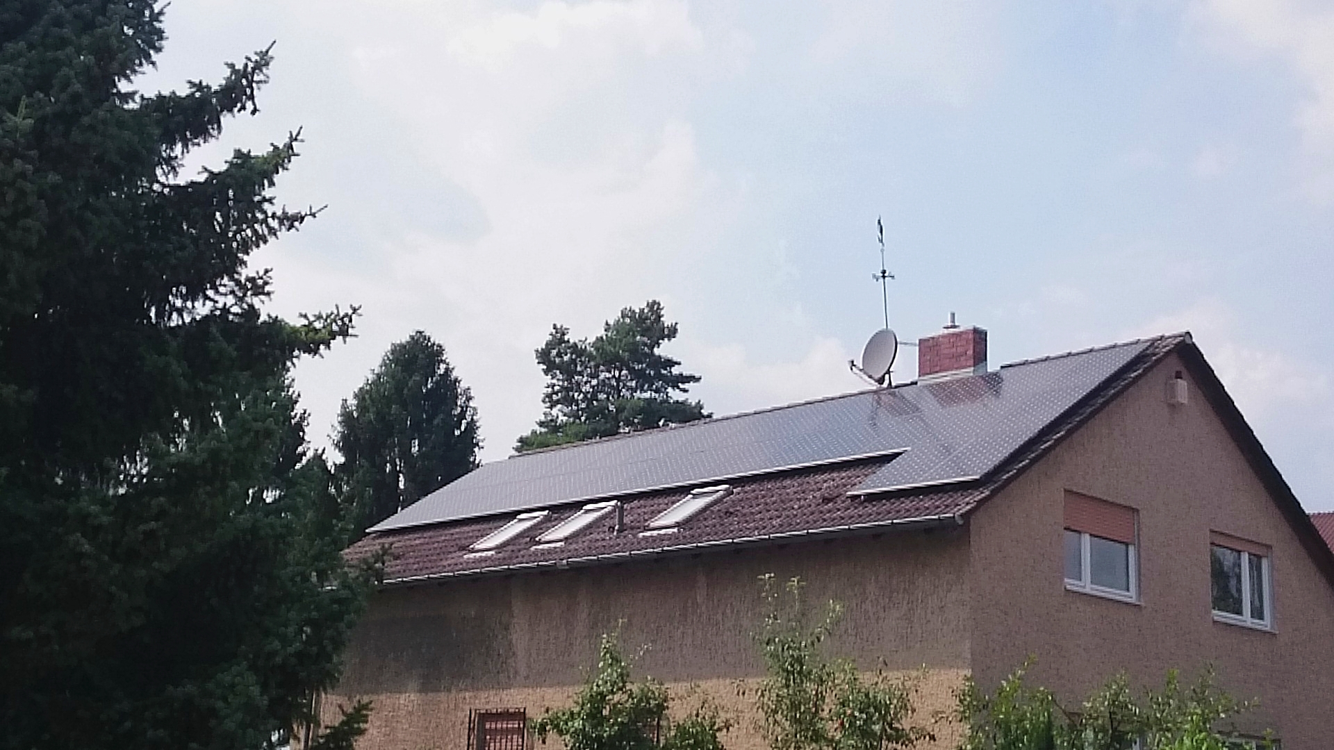 9,81 kWp Sunpower mit Solaredge Wechselrichter in Berlin
