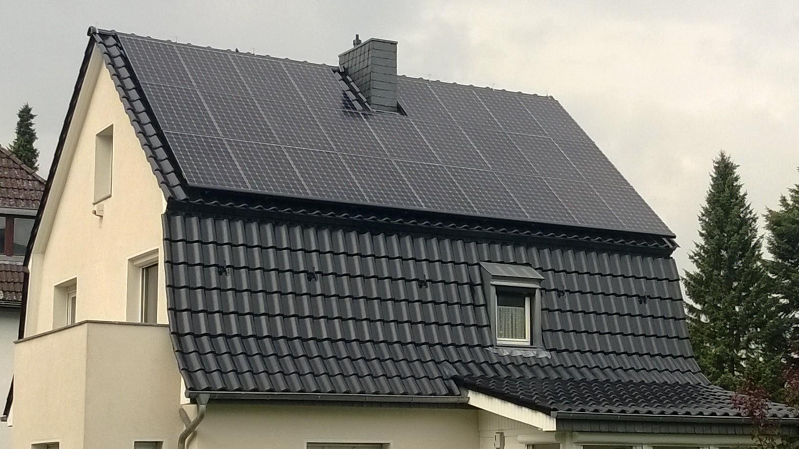 8,97 kWp Sunpower (X21 345W Module) mit Solaredge Wechselrichter in Berlin