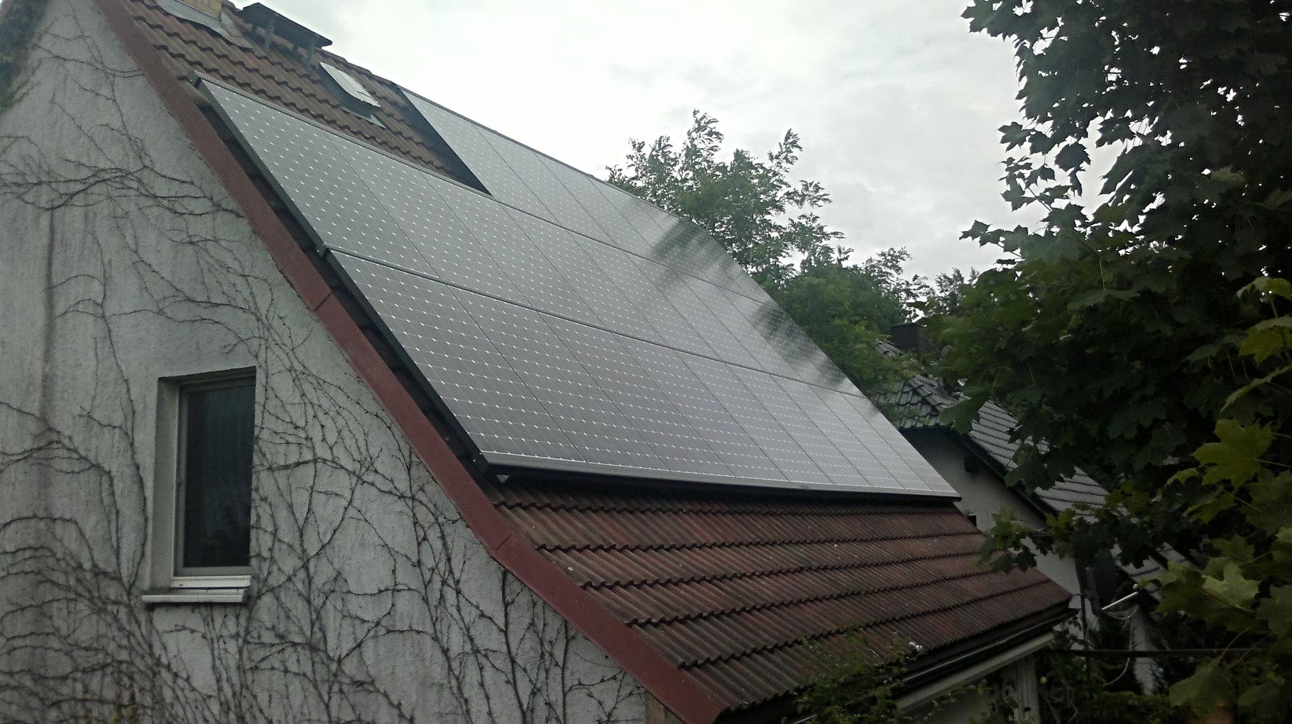 7,848 kWp Sunpower mit Solaredge Wechselrichter inkl. Wärmepumpe Dimplex in Eberswalde
