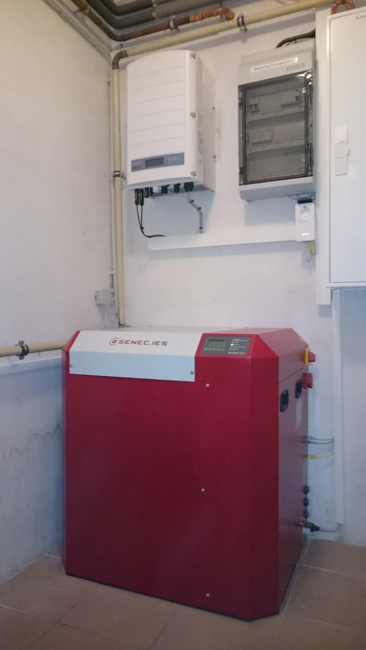 8 kW Pb Speicher SENEC.IES mit EconamicGrid in Hohen Neuendorf