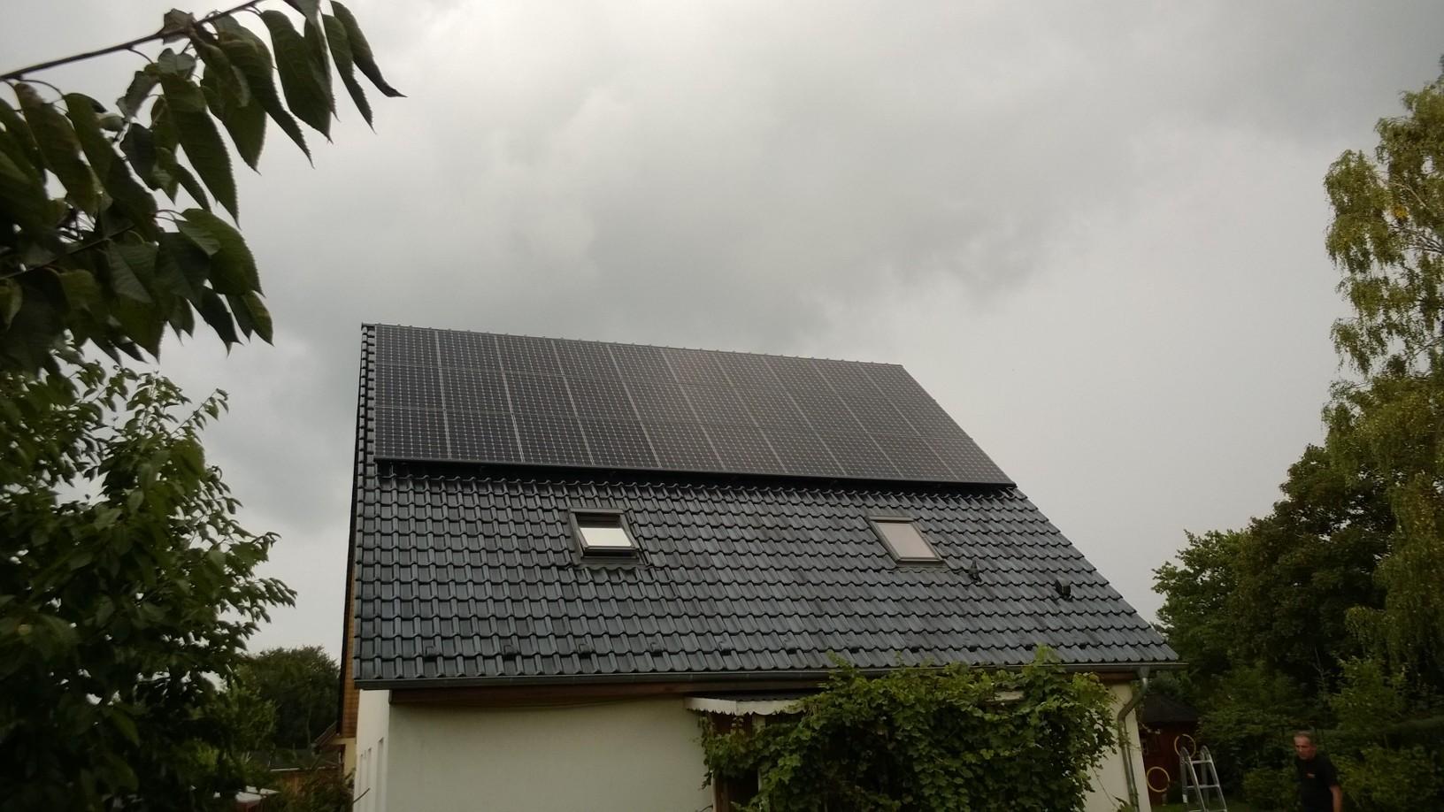 9,91 kWp Sunpower in Bernau bei Berlin