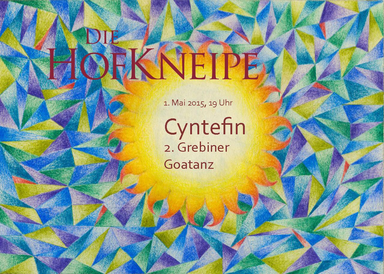 Vorderseite für Veranstaltung Cyntefin
