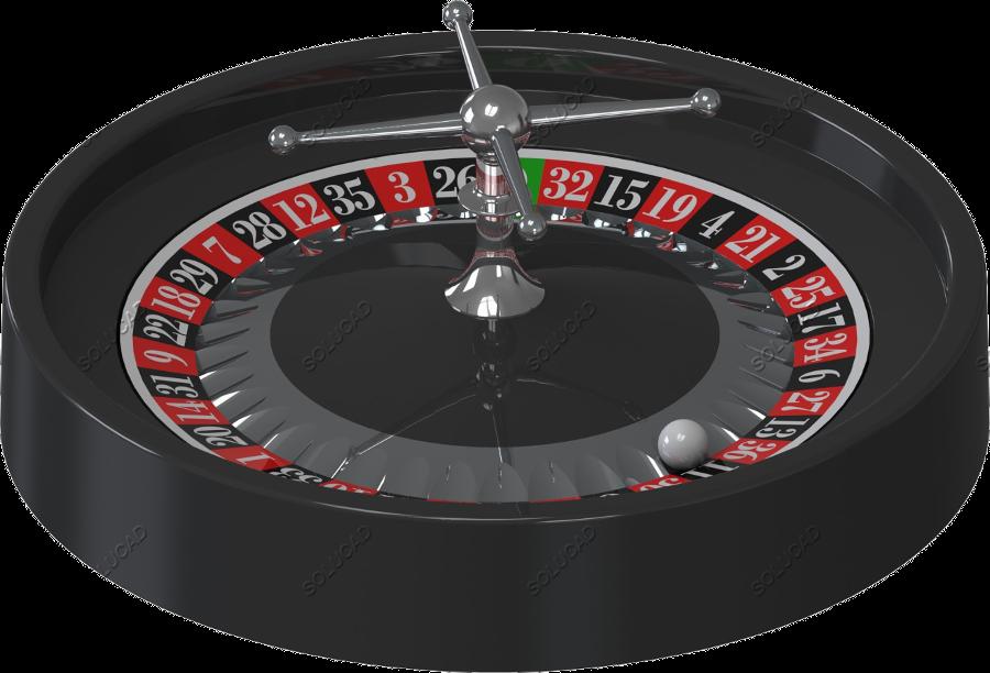 Roulette de jeux table manège
