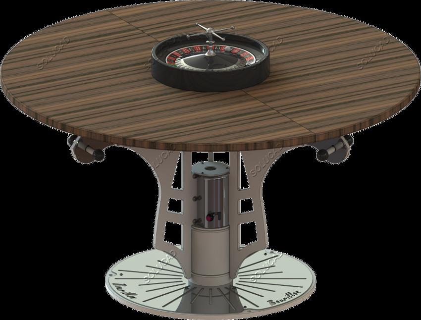 Table manège en configuration jeux