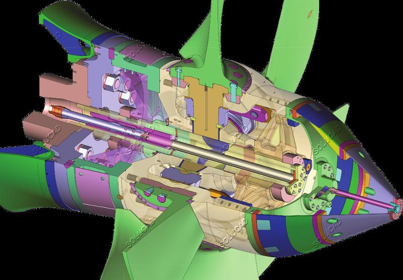 Moyeu de turbine Kaplan - Rétro-ingénierie