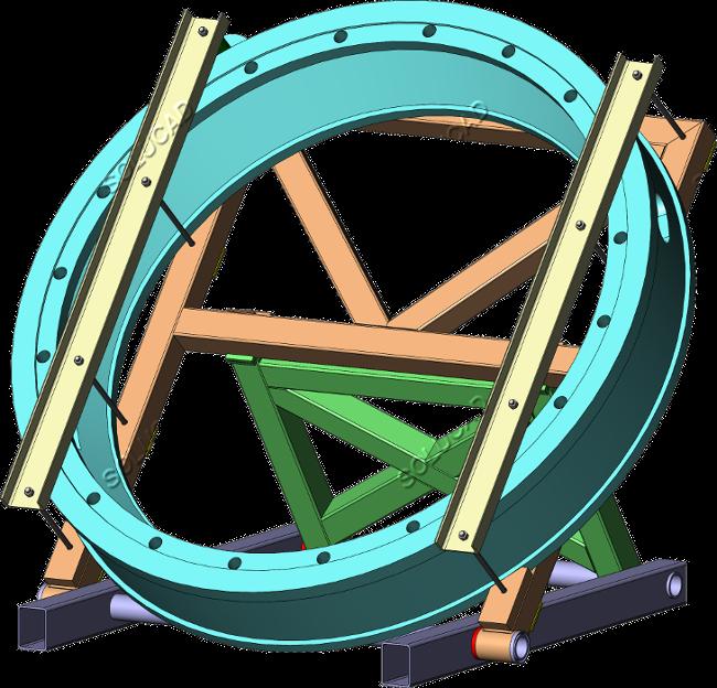 Outillage transport cercle de vannage