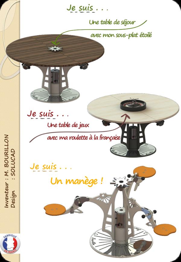 Table manège