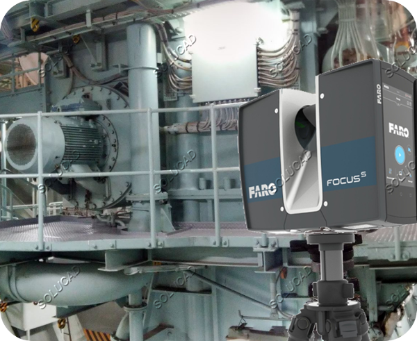 Scan 3D Salle des machines