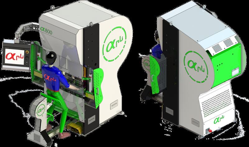 Presse plieuse électrique 20 tonnes - 800 mm