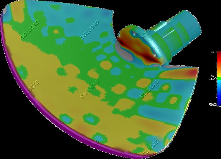 Scan 3D et inspection pale Kaplan