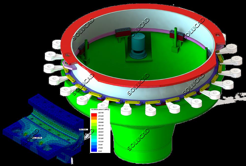 Cercle de vannage - Optimisation guidage