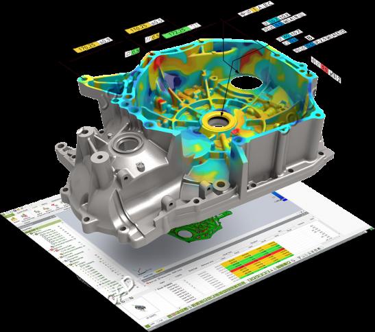 Inspection dimensionnelle carter moteur
