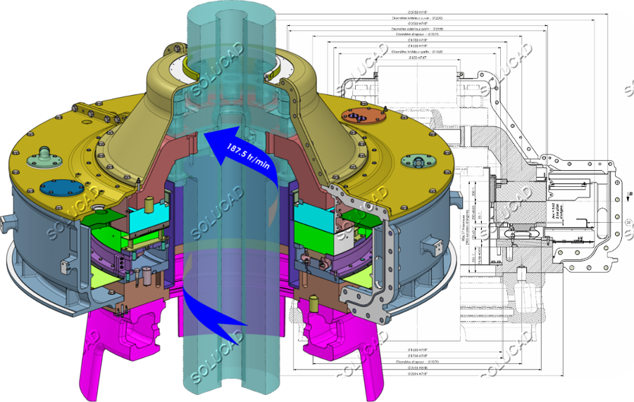 Pivoterie Turbine Francis