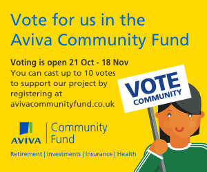 Aviva Community Fund - Give the Shed a Lift - please vote for Broadstairs Town Shed