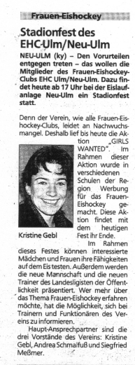 Frauen-Eishockey Ulm / Neu-Ulm e.V.