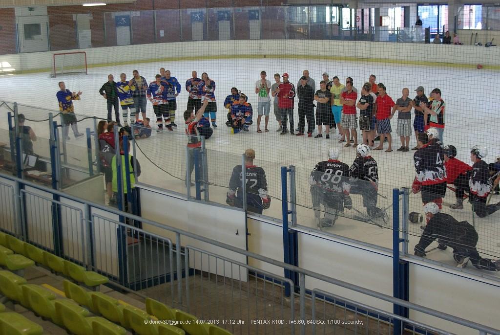 Siegerehrung EHC Summer Cup