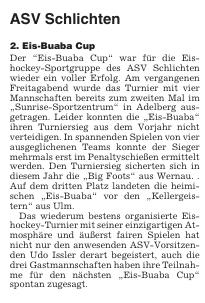 2. Eisbuaba Cup Adelberg