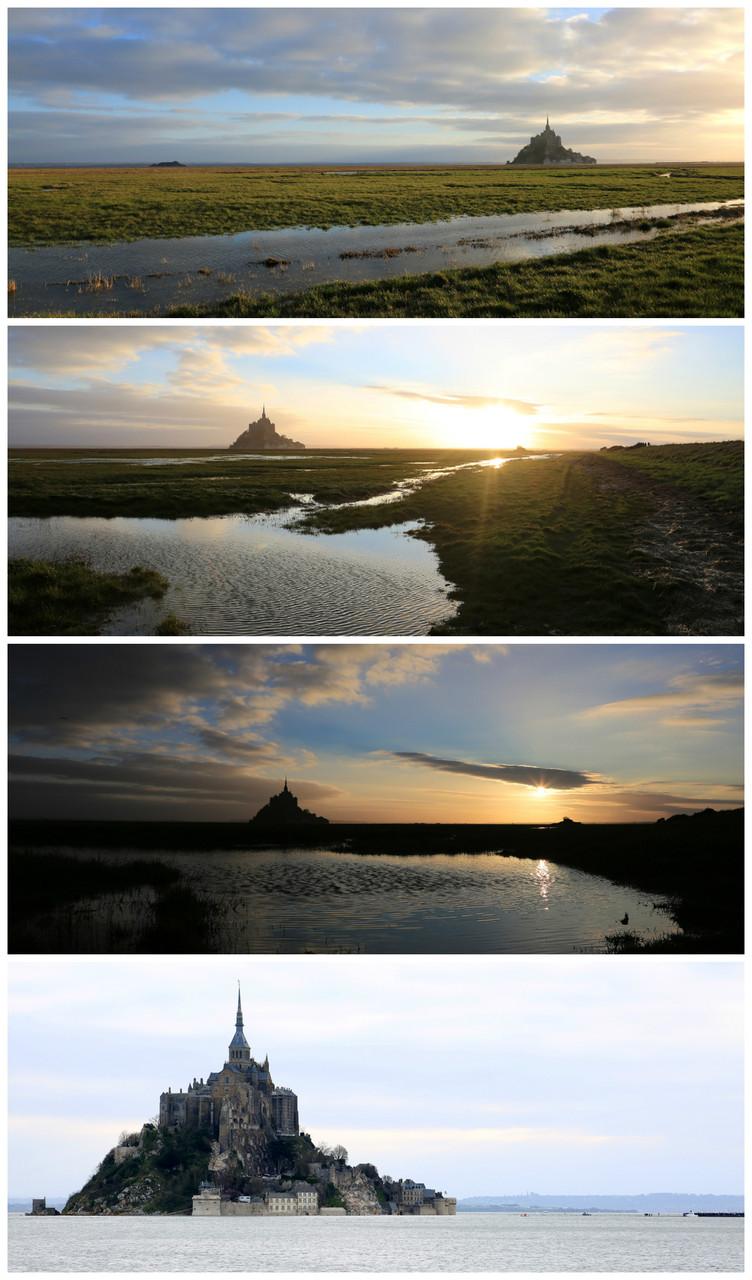 Le Mont Saint Michel - 1h00 de Coutances