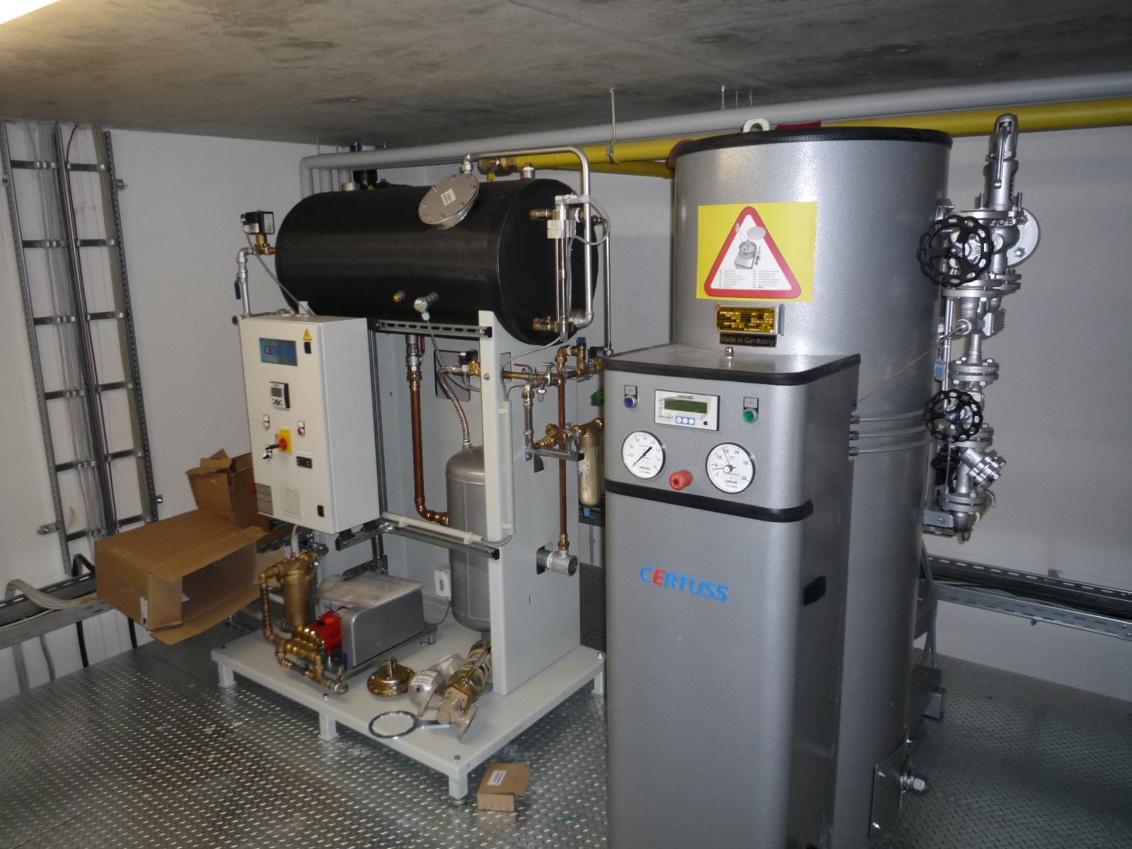 Dampfanlage 300KW