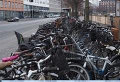 街中の駐輪