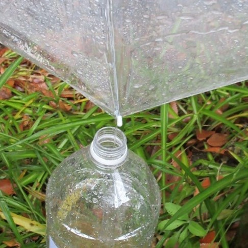 雨水を貯めて利用しよう!