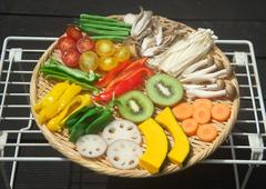干し野菜1_乾燥前