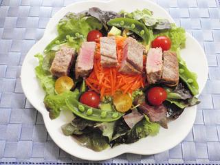 まぐろと野菜のさわやかサラダ