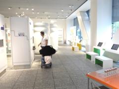 ミュージアム内の展示