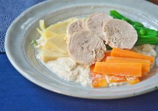 豆腐チキン完成