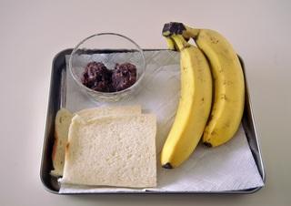 バナナあんこ材料