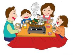 家族でお鍋