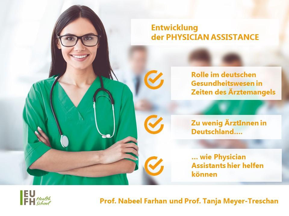 Entwicklung der Physisician Assistance-Rolle im deutschen Gesundheitswesen in Zeiten des Ärztemangels