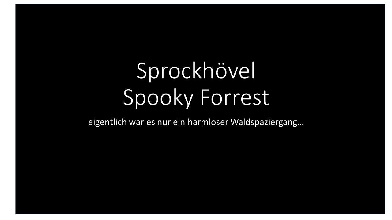 Sprockhövel Spooky Forrest