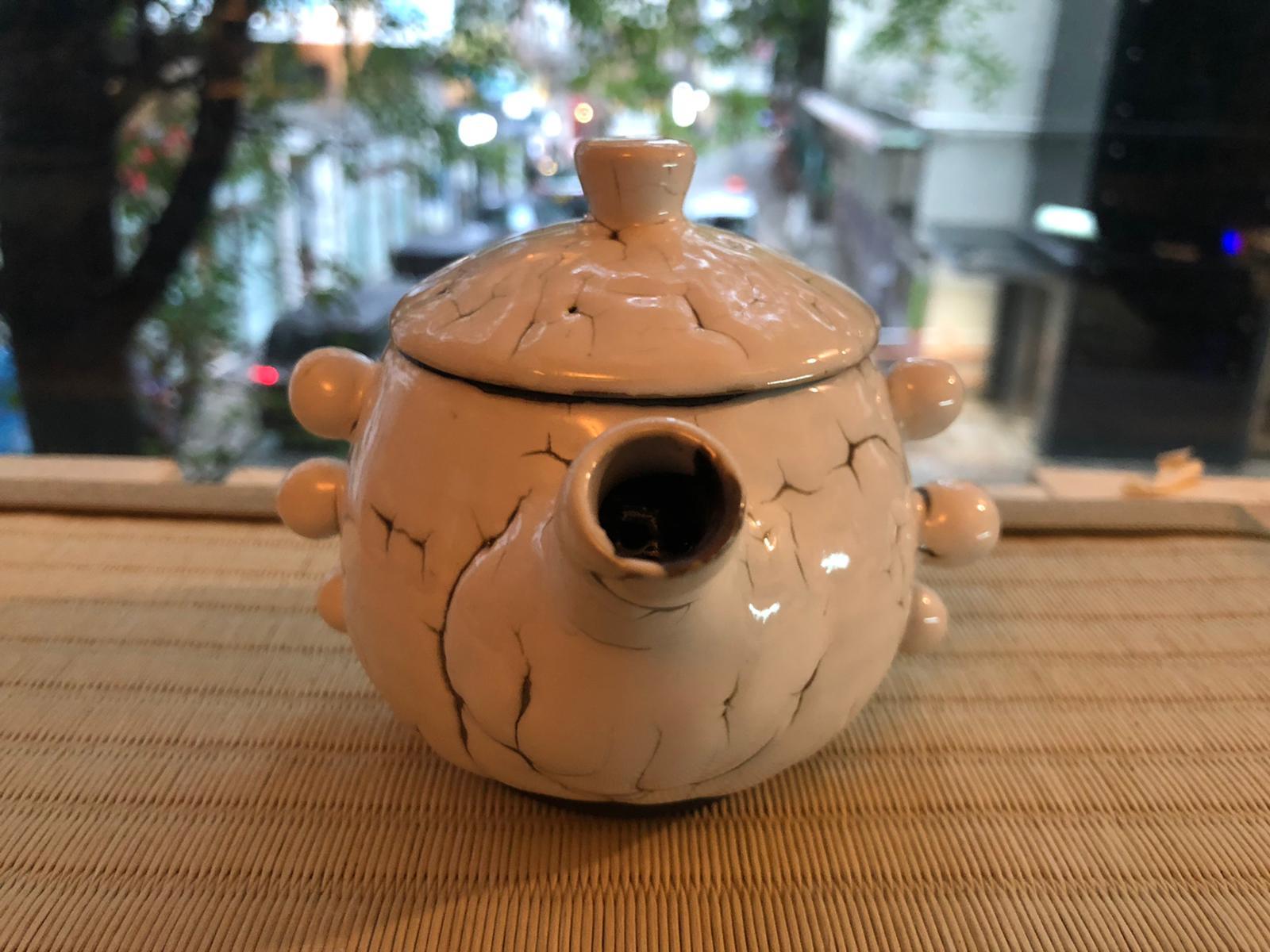 新款 #的骰  #龍爪梅花皮 茶具 New Ryuso Kairagi