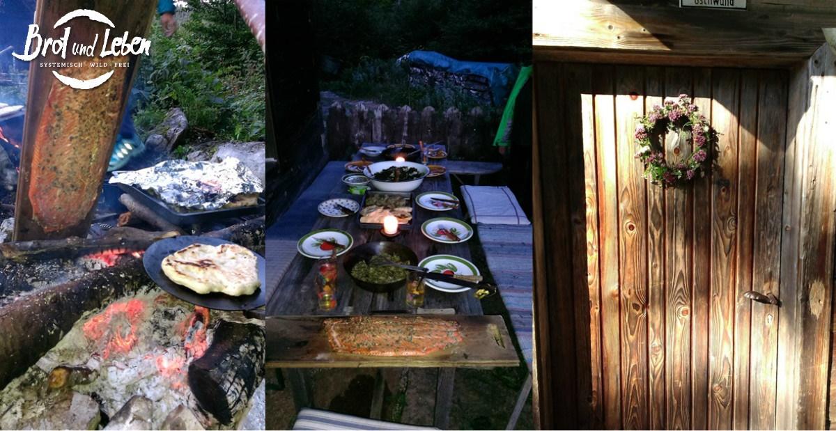 Abendessen outdoor