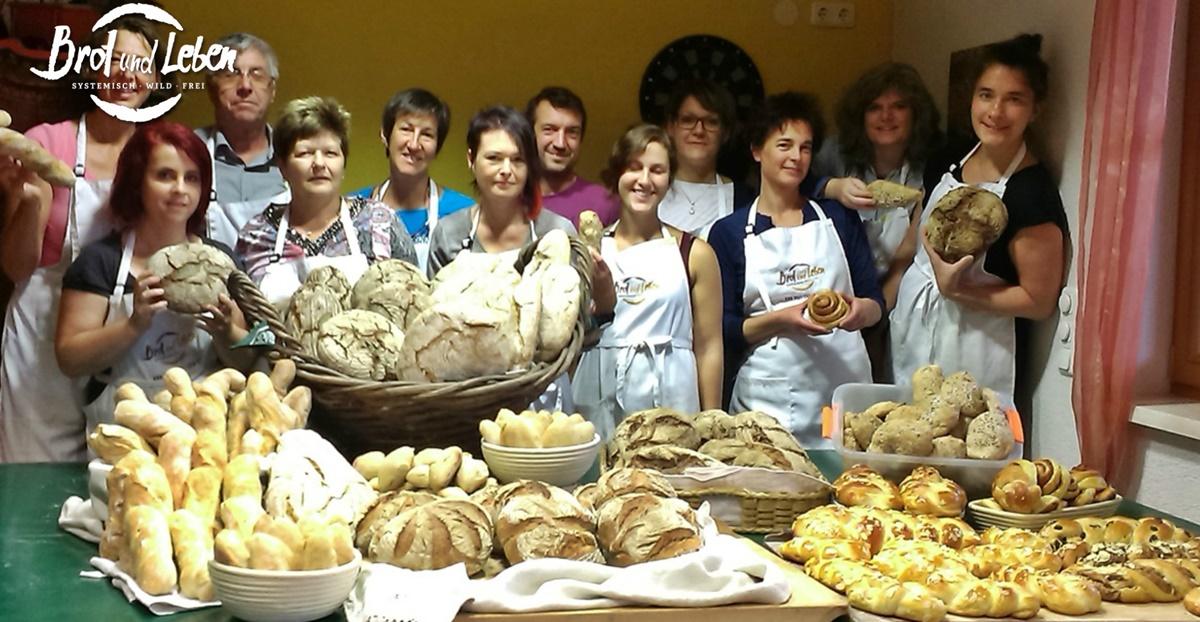 Intensiv-Brotbackkurs am Grüblerhof
