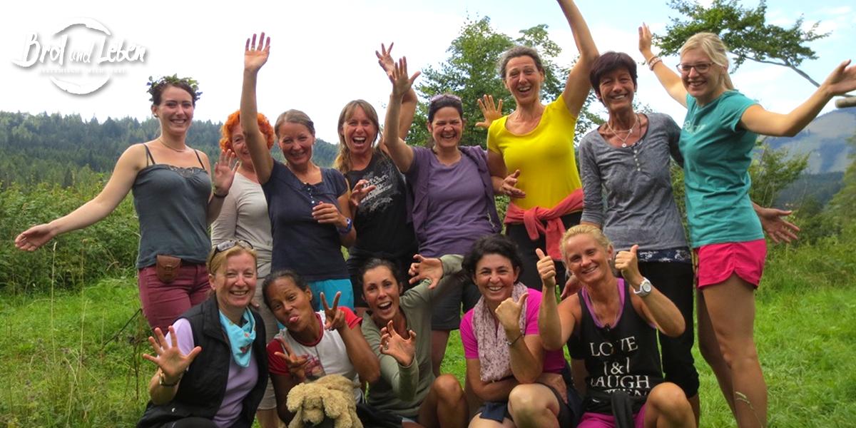 Wilde Weiber Frauencamp auf der Alm