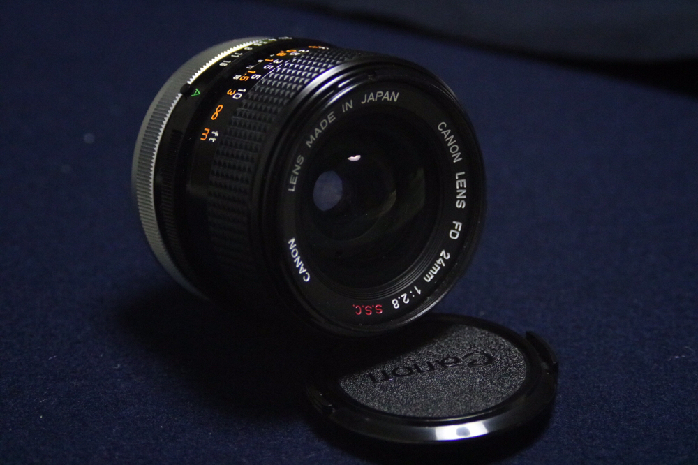 Canon FD 24mm F2.8 ssc