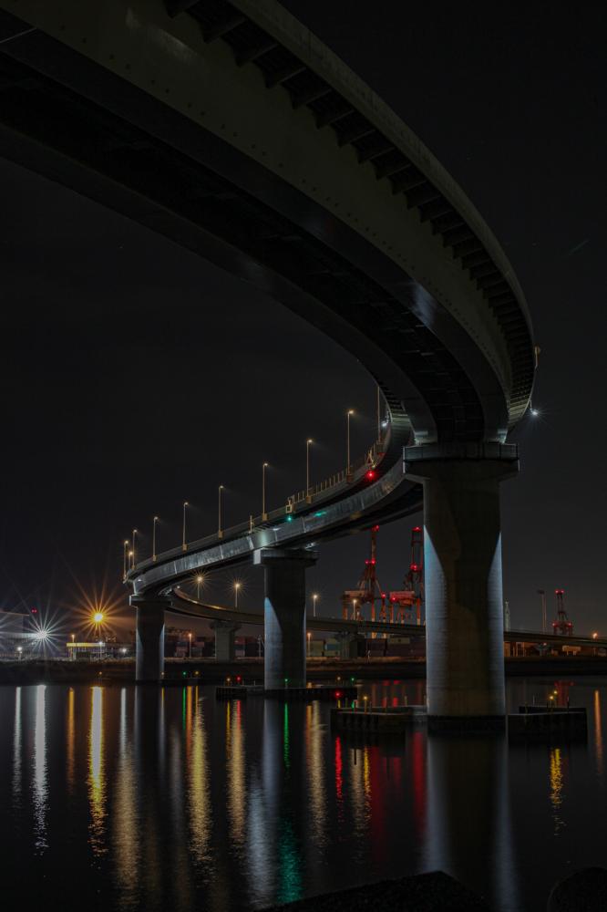 """四日市いなばポートライン  CanonEOS 5Dmk2  Sigma50mmF1.4 EX DG  iso100 50mm f10 30"""" M  photo : toshimasa"""
