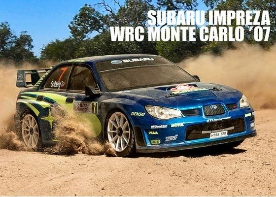 MST-XXX 1:10 Rally Car, Subaru Impereza WRC Monte Carlo '07