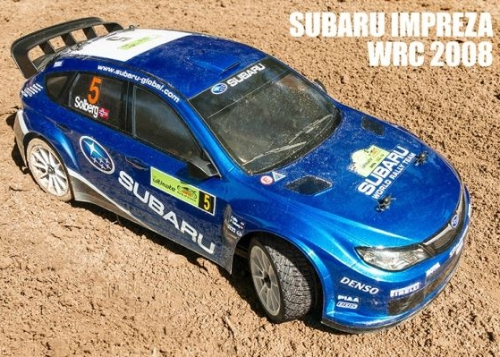 MST-XXX 1:10 Rally Car, Subaru Impereza WRC 2008