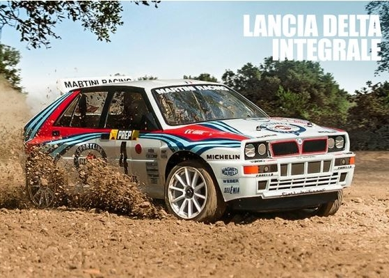 MST-XXX 1:10 Rally Car, Lancia Delta Integrale
