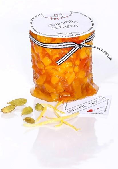 Nr.8 reizvolle tomate - verfeinert alles salzige, prosciutto, serrano & Co.