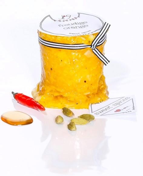 Nr.9 freudige orange - köstlich zu ziegenkäse