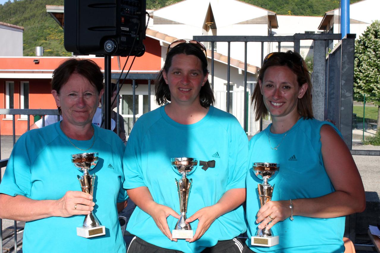 Championnes F3 et 4