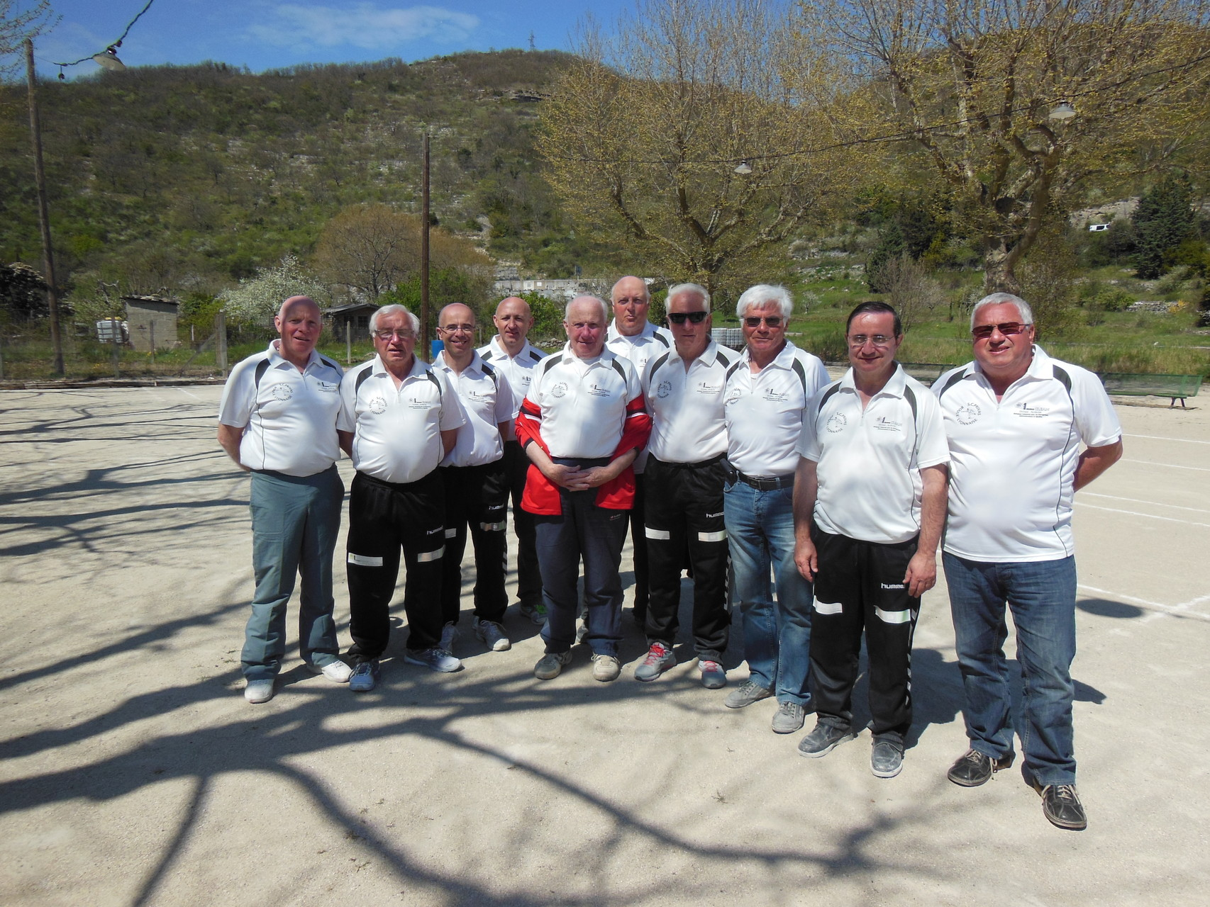 L'équipe du SCP sport boules de Privas est championne du secteur