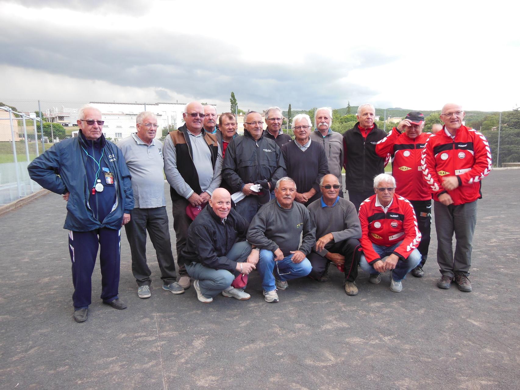 Les équipes qualifiées pour le fédéral à Talencieux le 3 juin 2015