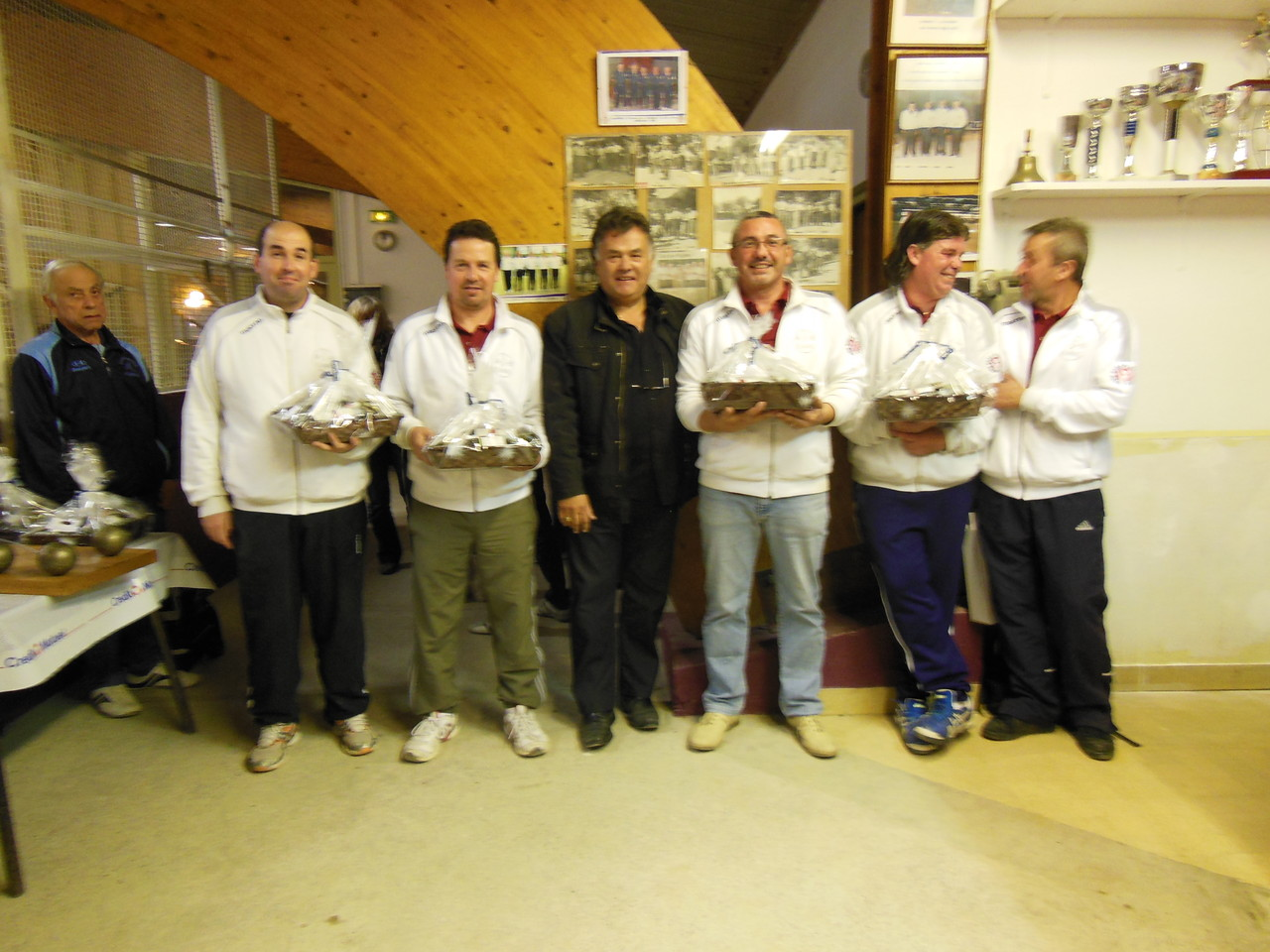 L'équipe Champ Flaviac Finaliste en 3ème division