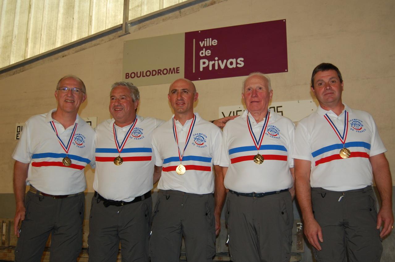 Les champions de France 2011