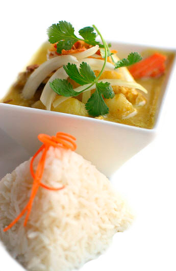 Gelbes Curry von prig thai Willisau